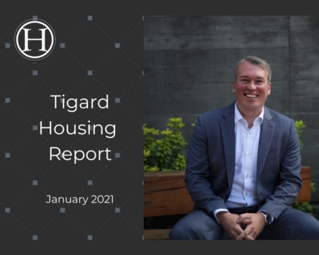 Tigard Housing Report for January 2021