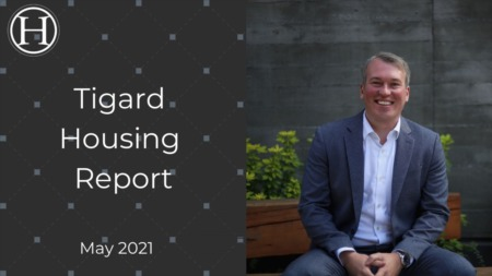 Tigard Oregon Housing Market Report for May 2021