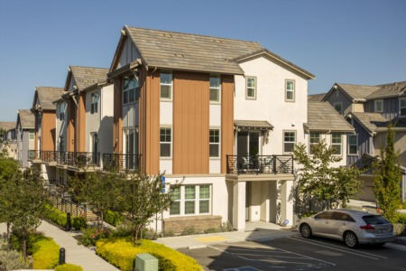 East-Facing Corner Unit Dublin Townhome!