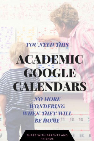 Parents YOU Need This:  South Carolina Academic Calendar at Your Finger Tips!