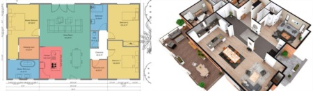 2D vs. 3D Rendered Floor Plans - What Real Estate Agents Need to Know