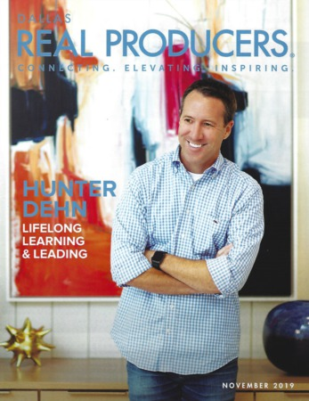 Hunter Dehn Realty Featured in Real Producers Magazine