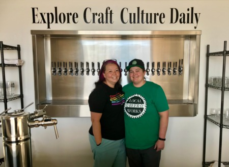 Local Beer Works, where craft beer meets crafts, opens in Midtown Reno