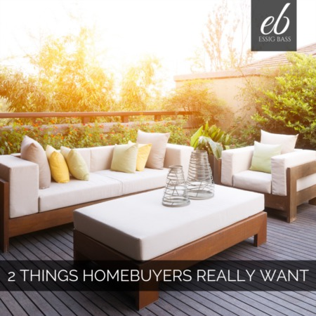 2 Surprising Things Homebuyers Really Want