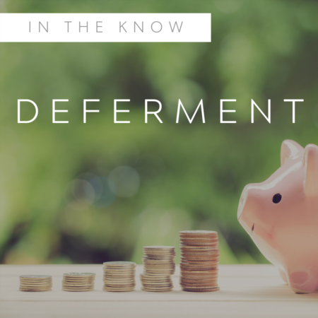 What is Payment Deferment