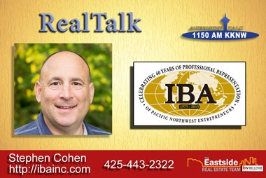 RealTalk Stephen Cohen with IBA talks about selling business