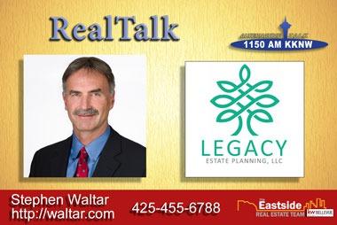 RealTalk Stephen Waltar with Legacy Estate Planning talks Estate Planning