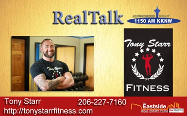 RealTalk Episode 11 Tony Starr Fitness