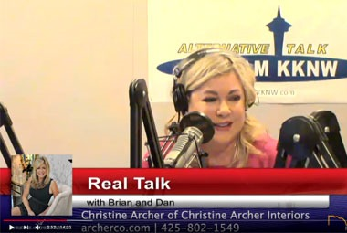 Interior Designer Christine Archer joins Real Talk w/ Brian & Dan Episode 38