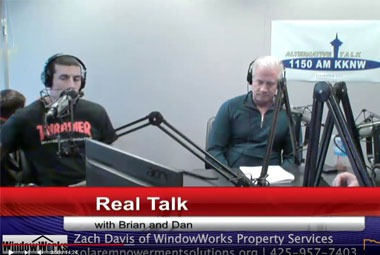 Zach Davis of WindowWorks Property Services Real Talk w/ Brian & Dan Episode 39