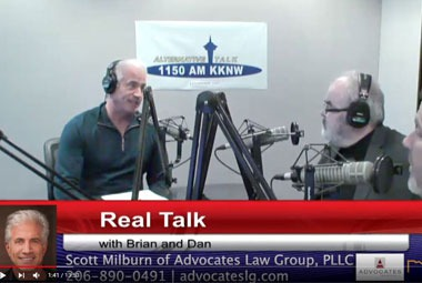 Scott Milburn w/ Advocates Law Group, PLLC - Real Talk w/ Brian & Dan Episode 39