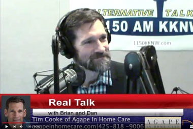More than just In Home Care w/ Tim Cooke and Agape In Home Care RealTalk w/ Brian & Dan Ep 40
