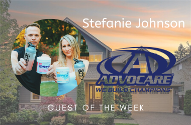 Stay fit and healthy during the quarantine. Stephanie Johnson with Advocare