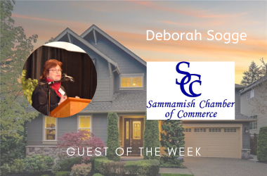 Support for local business: Sammamish Chamber of Commerce RealTalk Ep 50 w/Deb Sogge