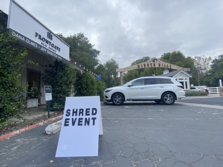 Frontgate Real Estate Hosts Successful Paper Shred Event in Hidden Hills