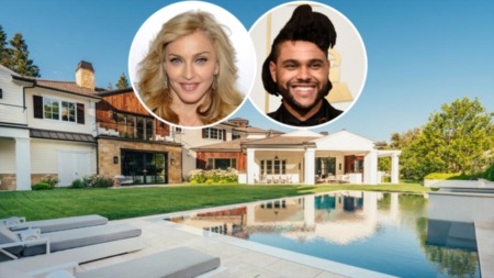 Madonna Buys $19.3 Million Home From The Weeknd