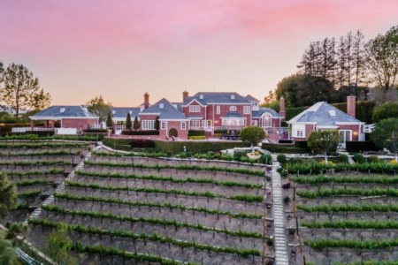 Hidden Hills Manor and Wish Vineyards Featured on Haute Residence