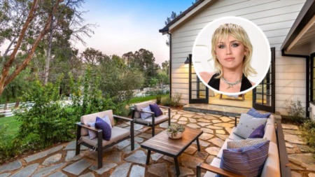 Miley Cyrus Profits $2.3 Million Flipping Her Hidden Hills Mansion and Selling For $7.2 Million