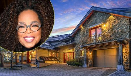 Oprah Winfrey Sells $14m Retreat in Washington State