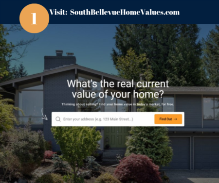 What is the value of your Eastgate home in South Bellevue?