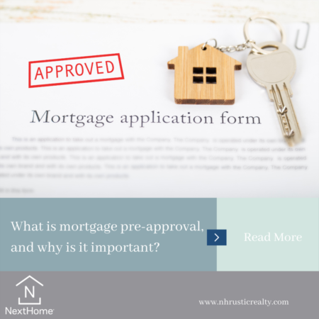 What is mortgage pre-approval, and why is it important?