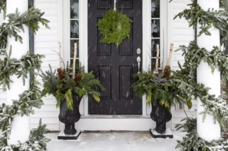 Post Holiday Winter Porch Decor Ideas