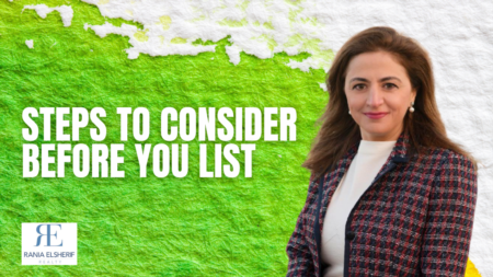 Steps to consider before you list