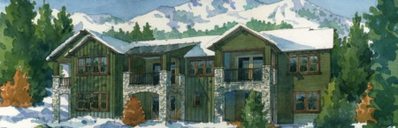 New Release of Homes at CreekHouse at Snowcreek Resort!