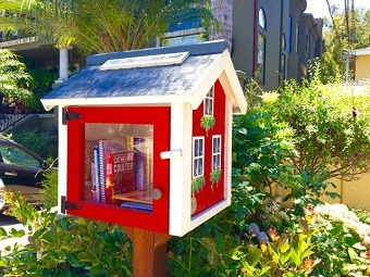 Little Free Libraries Flourish in the South Bay
