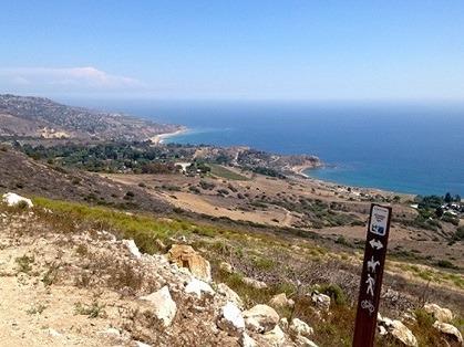 Incredible Ocean Vistas Mark PV Peninsula Trails