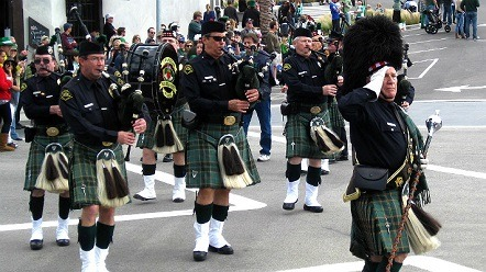 St. Patrick's Day Parade in Hermosa Beach