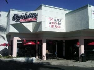 Capriotti's Sandwich Shop in Torrance