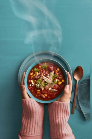 Easy Dinner Recipe Of The Week ~ Slow Cooker Tex-Mex Chili