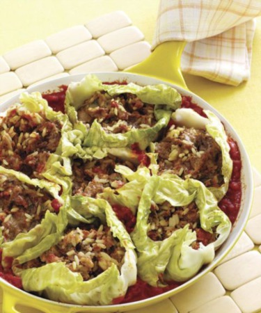 Easy Dinner Recipe Of The Week ~ Skillet Stuffed Cabbage