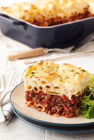 Easy Dinner Recipe Of The Week ~ Greek Ziti Bake