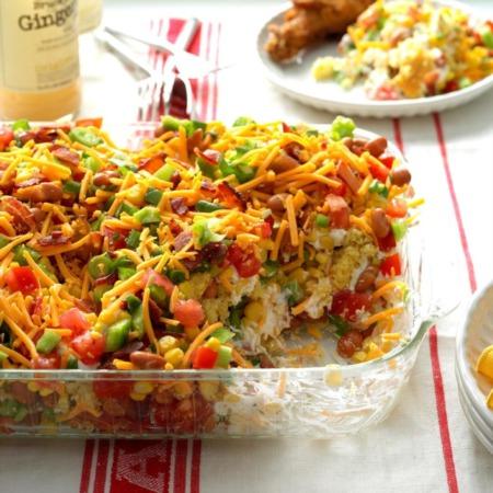Easy Dinner Recipe Of The Week ~ Chili Cornbread Salad
