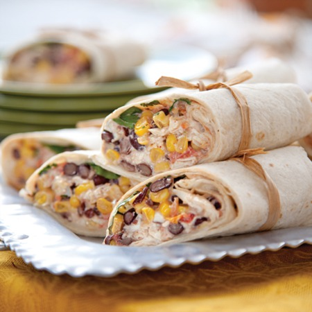 Easy Dinner Recipe Of The Week ~ Chili-Lime Southwest Wraps