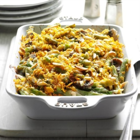 Thanksgiving Foods ~ Green Bean Casserole