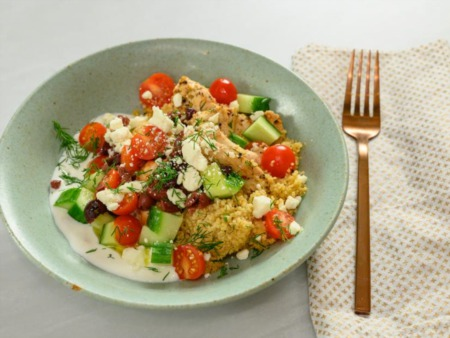 Easy Dinner Recipe Of The Week ~ Instant Pot Greek Chicken Bowls