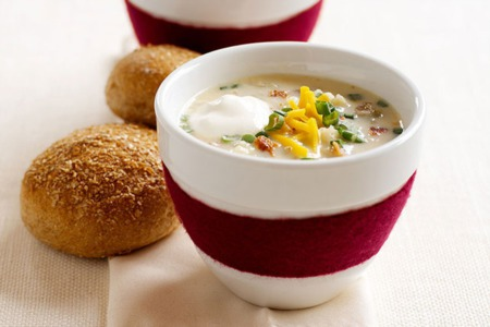 Easy Dinner Recipe Of The Week ~ Loaded Potato Soup