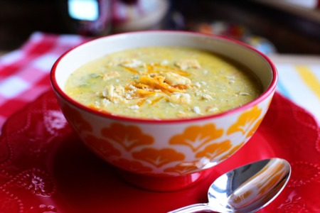 Recipe Of The Week ~ Slow Cooker Broccoli Cheese Soup