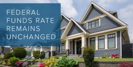 The Federal Reserve Announces Rates Will Hold Steady