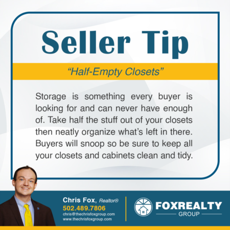 Selling Your Home? Tip #1