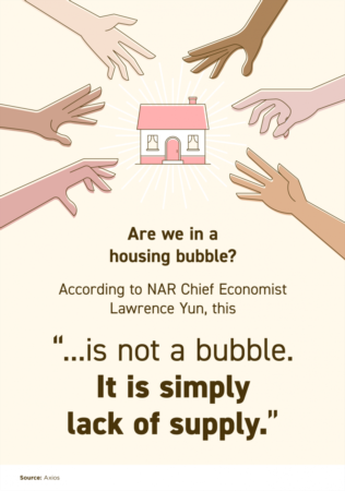 This Isn't a Bubble. It's Simply Lack of Supply.