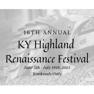 16th Annual Kentucky Highland Renaissance Festival Themed Weekends!!