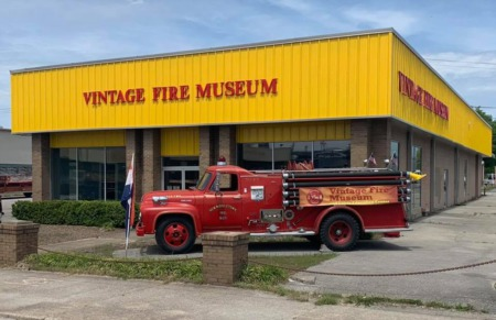 Vintage Fire Museum ~ Grand Opening