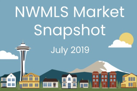 Northwest MLS brokers report mixed activity during July, as volume of closed sales reaches 12-month high