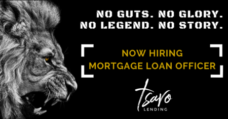 Now Hiring Mortgage Loan Officer