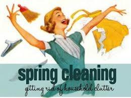 Spring Decluttering