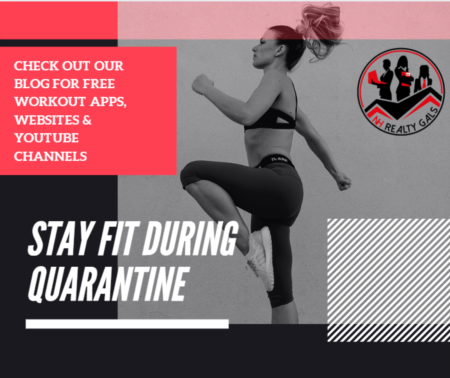 Stay Fit & Healthy during Quarantine